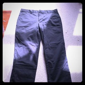 Black Gap Cropped Pants